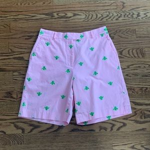 Lily Pullitzer Embroidered Bee Shorts - Size 10